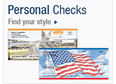 Personal Checks. Find your style