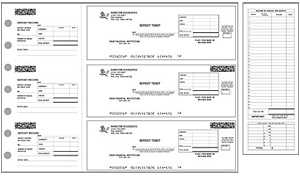 Business Check Deposit Tickets